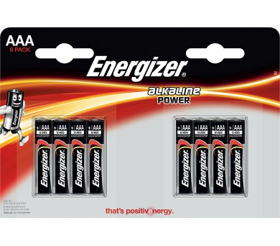LR03 4+4BP AAA FP Alk ENERGIZER