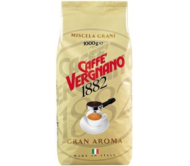 Káva Vergnano Gran Aroma 1000g zrnková káva
