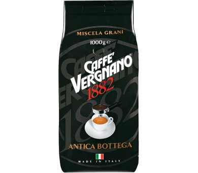 Káva Vergnano Antica Bottega 1000g zrnková káva