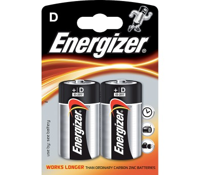 Energizer ALK LR20 2BP D Power