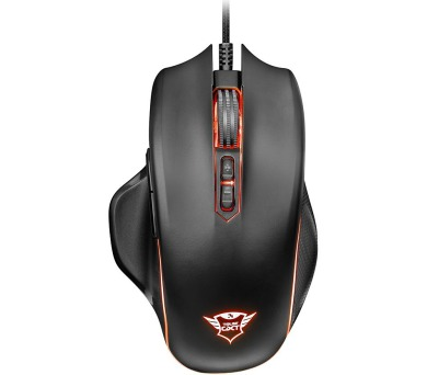 TRUST GXT 168 Haze Illuminated Gaming Mouse (22331)
