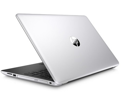"""HP 15-bs104nc/Intel i7-8550U/8GB/128GB SSD + 1 TB/DVDRW/AMD Radeon 530 4GB/15,6"""" HD/Win 10/stříbrn"""