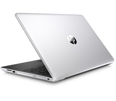 "HP 15-bs104nc/Intel i7-8550U/8GB/128GB SSD + 1 TB/DVDRW/AMD Radeon 530 4GB/15,6"" HD/Win 10/stříbrná (3QQ21EA#BCM)"