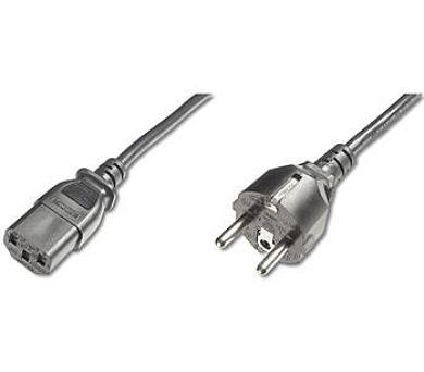PremiumCord Kabel síťový 230V k počítači 2m