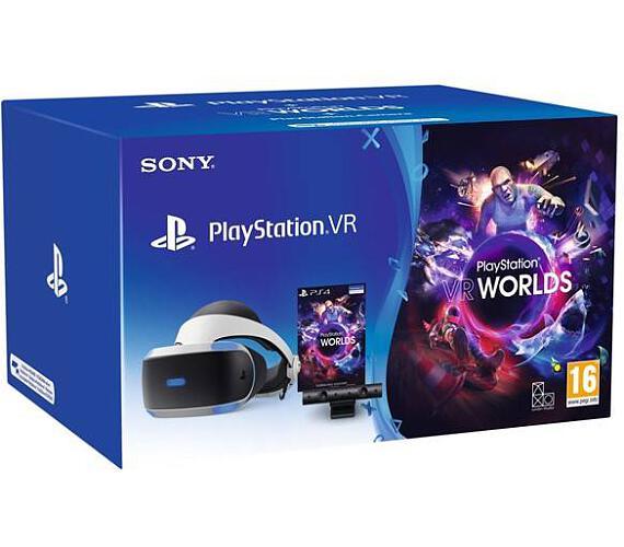 PS4 - PSVR headset + Kamera + VR Worlds