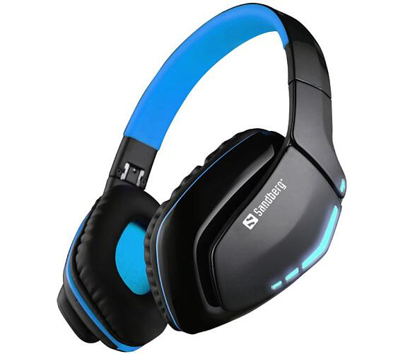 Sandberg sluchátka Bluetooth Headset Blue Storm s mikrofonem