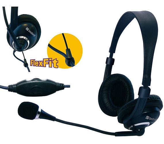 Sandberg sluchátka Headset One s mikrofonem