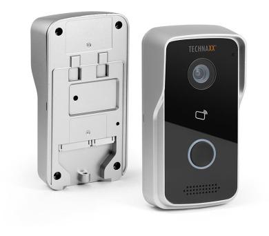 Technaxx bezdrátový WiFi video zvonek s kamerou a otevíráním dveří + DOPRAVA ZDARMA