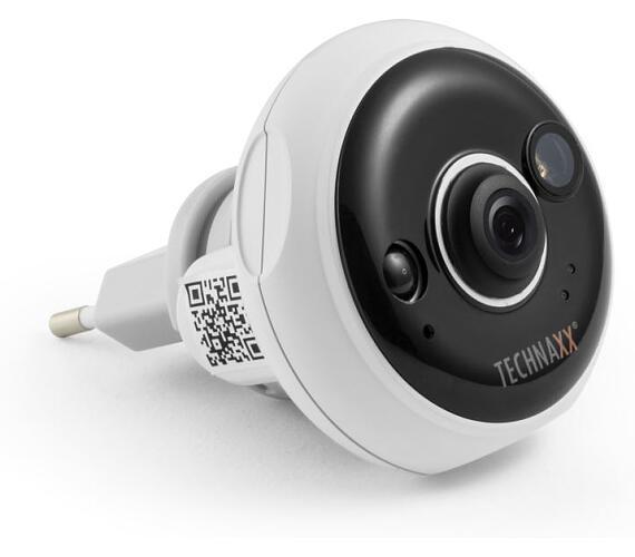 Technaxx bezpečnostní IP kamera do zásuvky FullHD indoor (TX-57) (4577) + DOPRAVA ZDARMA