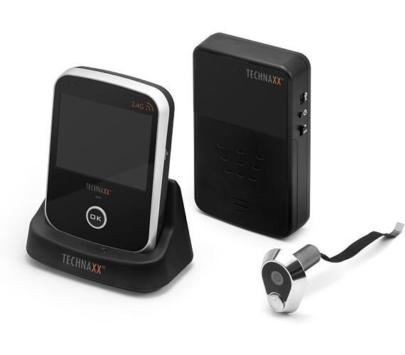 """Technaxx bezpečnostní kamera do dveřního kukátka a 3.5"""" monitor (TX-75) (4648) + DOPRAVA ZDARMA"""