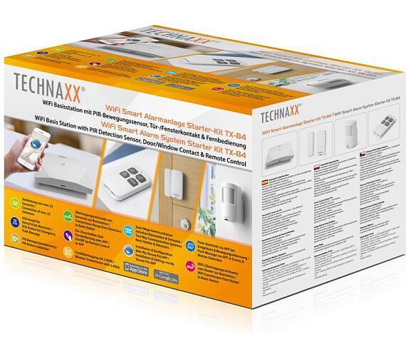 Technaxx bezpečnostní WiFi Smart kit + DOPRAVA ZDARMA