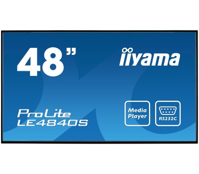 iiyama ProLite LE4840S-B1 -FullHD,SVA + DOPRAVA ZDARMA