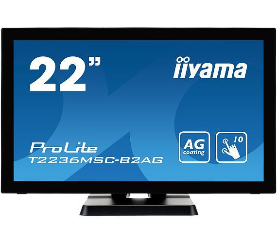 iiyama T2236MSC-B2AG - multidotekový + DOPRAVA ZDARMA