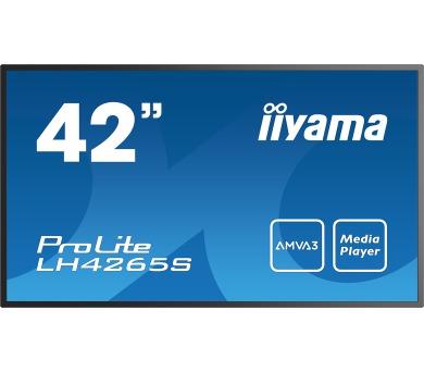 iiyama ProLite LH4265S-B1 -AMVA3 + DOPRAVA ZDARMA