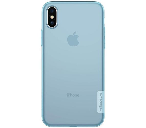 Nillkin Nature TPU Pouzdro Blue pro iPhone X (8595642271113)