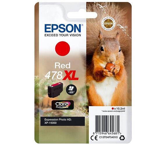 Epson Singlepack Red 478XL Claria Photo HD Ink (C13T04F54010) + DOPRAVA ZDARMA