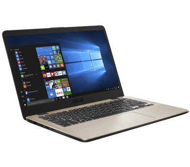 """ASUS X405UA-EB760T Core i3-6006U/4GB/500GB 5400 ot./Intel HD Graphics 320/14"""" 1920x1080 FHD/Matný/BT/W10 Home/Golden + DOPRAVA ZDARMA"""