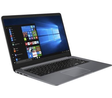ASUS S510UA-BQ508T Core i3-7100U/4GB/1TB 5400 ot./Intel HD Graphics 620/15,6 1920x1080 FHD/Matný/BT/W 10 Home/Grey + DOPRAVA ZDARMA