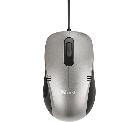 TRUST Ivero Compact Mouse - black/grey