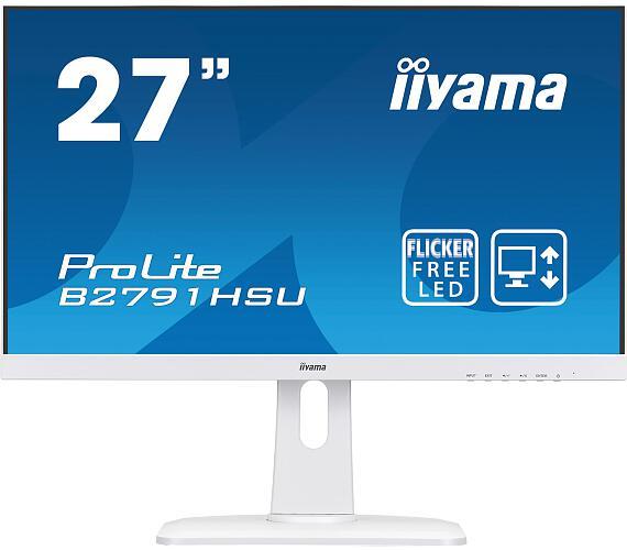 iiyama B2791HSU-W1 - TN,FullHD,1ms,300cd/m2