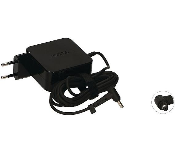2-Power VP-TNT75T (ADP-45BW Alternative) AC Adapter 19V 45W Black (Fixed EU Plug) 4,0x1,35mm (0A001-00232500) + DOPRAVA ZDARMA