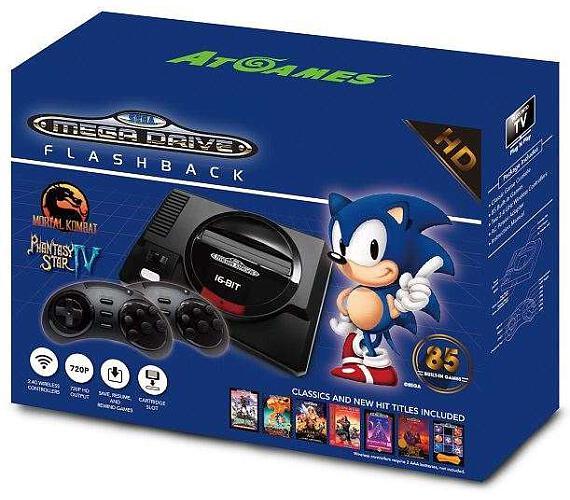 AtGames Sega Mega Drive Flashback HD + DOPRAVA ZDARMA