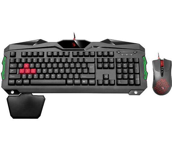 A4tech Bloody B2100 herní set klávesnice s myši