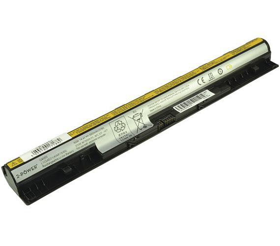 2-Power baterie pro IBM/LENOVO IdeaPad Z710 14,4 V + DOPRAVA ZDARMA