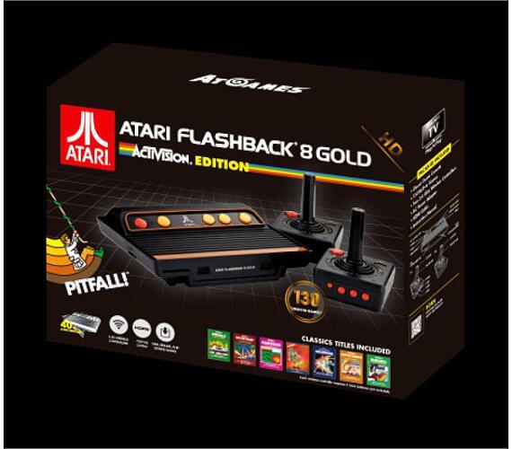 AtGames Atari Flashback 8 Gold HD - Activision Edition