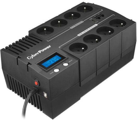CyberPower BRICs LCD UPS 1000VA/600W - české zásuvky + DOPRAVA ZDARMA