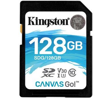 KINGSTON Canvas Go 128GB SDXC / U3 V30 / CL10 (SDG/128GB)
