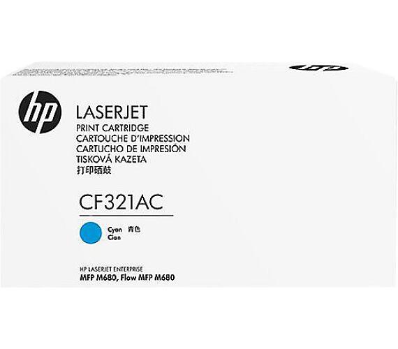 HP 653A - azurový Contract Toner + DOPRAVA ZDARMA