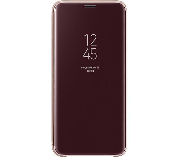 Samsung Flipové pouzdro Clear View pro S9 Gold (EF-ZG960CFEGWW)