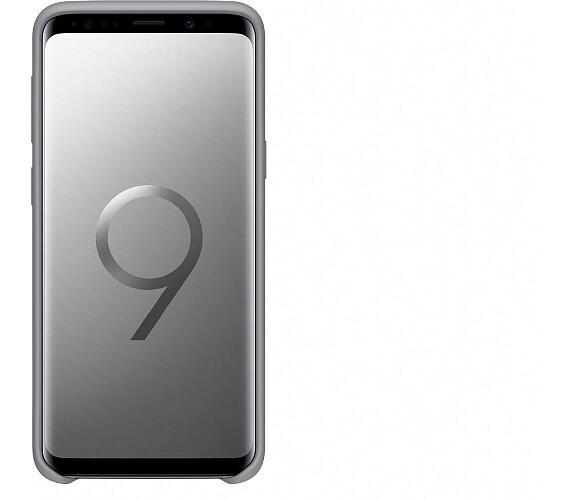 Samsung Silikonový zadní kryt pro S9 Gray