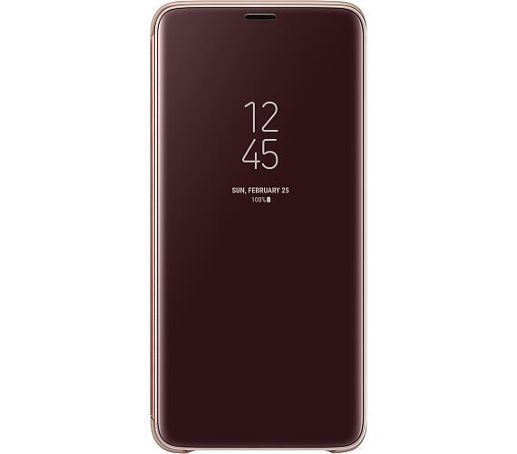 Samsung Flipové pouzdro Clear View pro S9+ Gold (EF-ZG965CFEGWW) + DOPRAVA ZDARMA