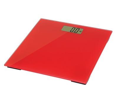 OMEGA osobní váha červená (OBSR)