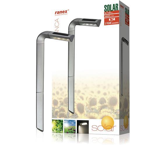 Ranex RA-5000383 - Solární Zahradní Svítidlo 8 LED