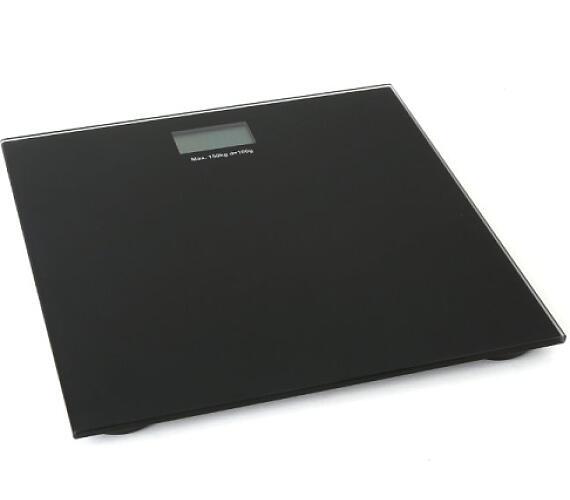OMEGA osobní váha černá (OBSB)