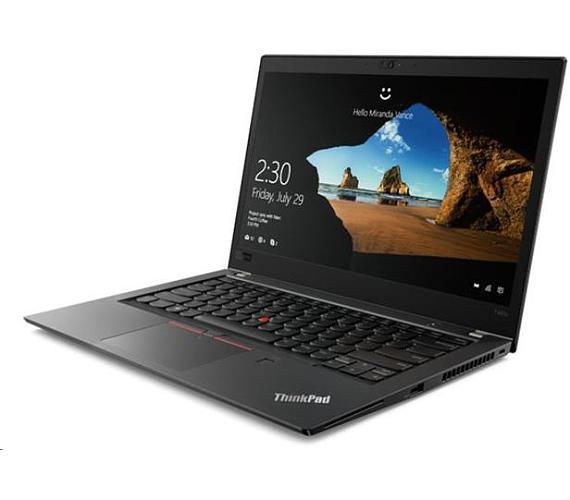 """Lenovo ThinkPad T480s i5-8250U/8GB/256GB SSD/UHD Graphics 620/14""""FHD IPS/4G/Win10PRO/Black (20L7001SMC)"""