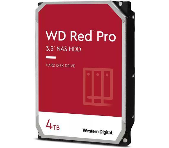 """WD HDD RED Pro 4TB HDD / WD4003FFBX / SATA 6Gb/s / Interní 3,5""""/ 7200 rpm / 256MB"""