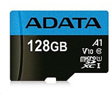 ADATA Micro SDXC/ karta 128GB UHS-I Class 10 + DOPRAVA ZDARMA