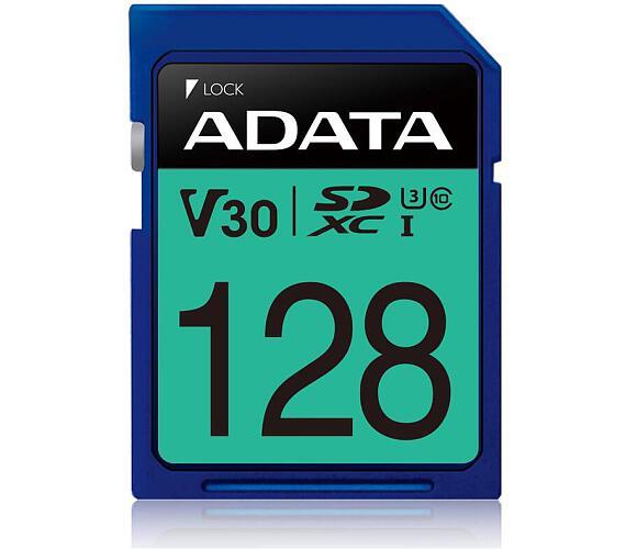 ADATA SDXC karta 128GB UHS-I U3 Class 10