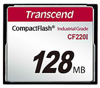 TRANSCEND Industrial Compact Flash Card CF220I 128MB