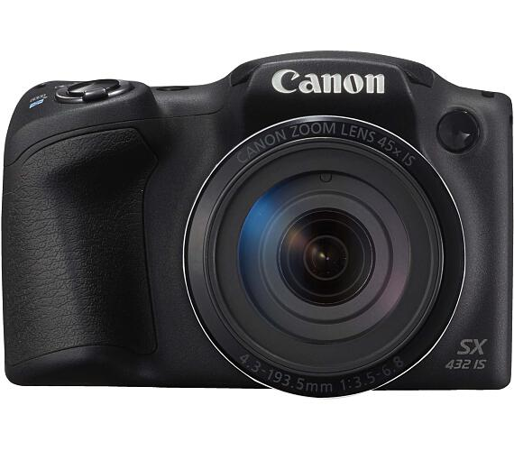 Canon PowerShot SX432 IS černý (1879C001AA) + DOPRAVA ZDARMA
