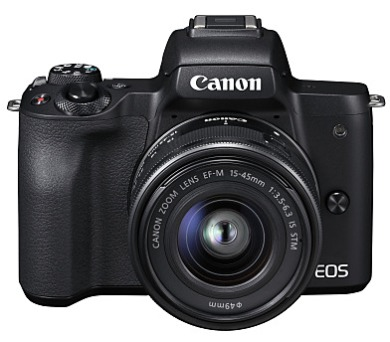 Canon EOS M50 Black + EF-M 15-45 - SELEKCE SIP
