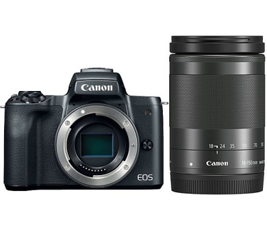 Canon EOS M50 Black + EF-M 18-150 - SELEKCE SIP