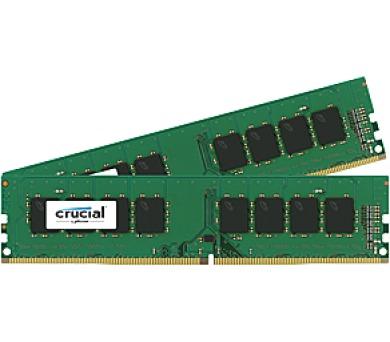 Crucial CL17 DR x8 DIMM kit + DOPRAVA ZDARMA