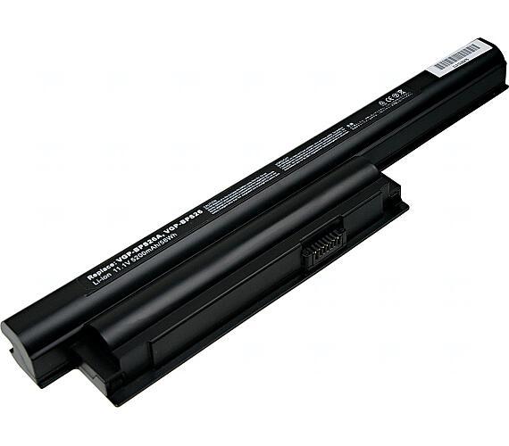Baterie T6 power Sony Vaio VPC-CA + DOPRAVA ZDARMA