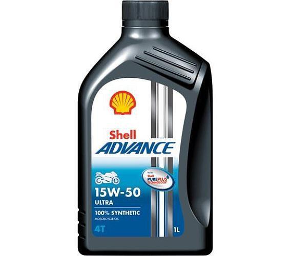 Shell Advance Ultra 4T 15W-50 1L