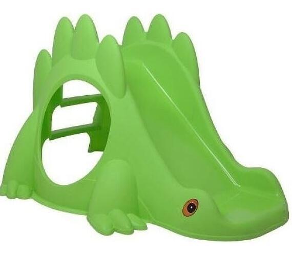 Skluzavka Dino - zelená